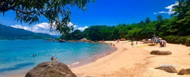 Praia do Julião em Ilhabela