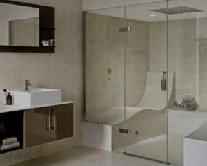 Construção de banho turco