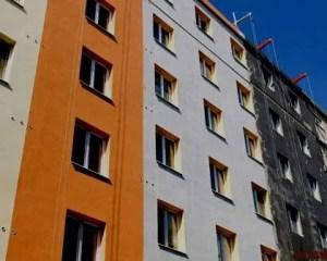 Pintura de fachada de edifício