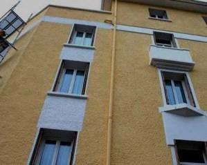 Pintura de fachada de prédio
