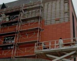 Reabilitação de fachada de edifício