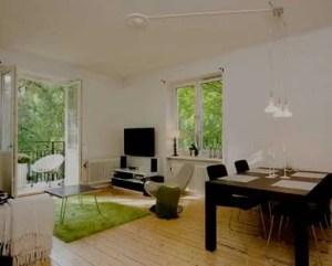 Remodelação de apartamento com pavimento de madeira