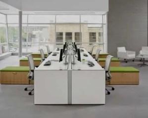 Remodelação de escritórios para vários trabalhadores
