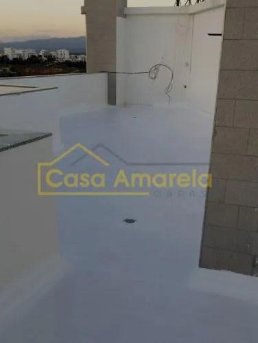 Impermeabilização de terraço de edifício