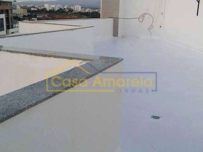 Impermeabilização de terraço em prédio