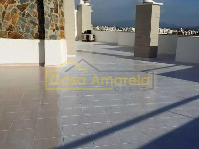 Impermeabilização de terraço no Algarve