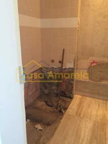 Obra de remodelação de casa de banho