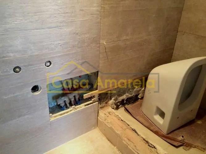Obras de remodelação de casa de banho no Porto