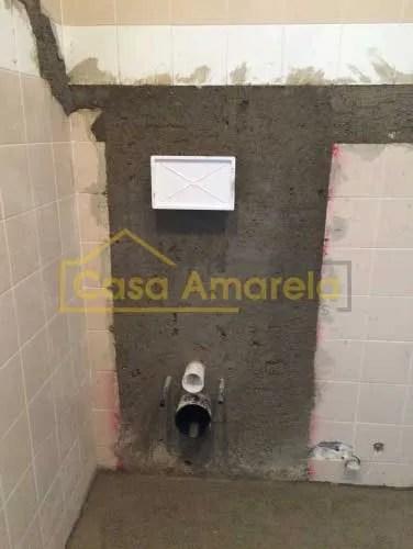 Remodelação de casa de banho canalização