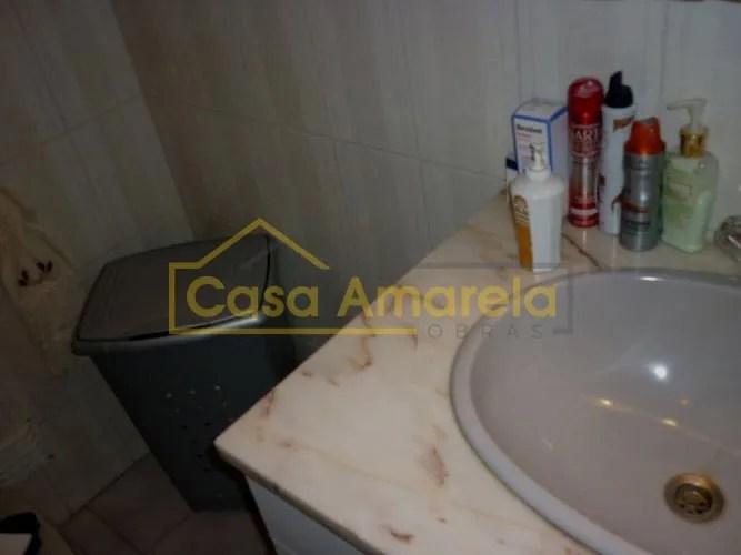 Remodelação de casa de banho lavatório antes