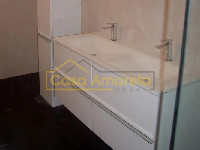 Remodelação de casa de banho móvel