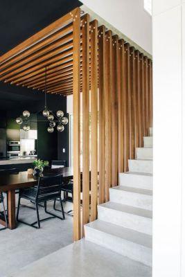 Arquitetura de Interiores - Madeira - Casa Ao Cubo - Fonte: Pinterest - desiretoinspire.net