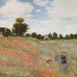 """Obra """"Coquelicots- La promenade""""- 1873"""