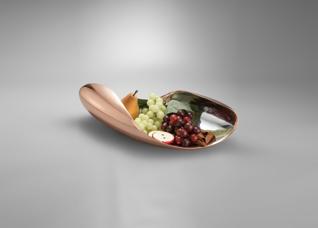 Do designer Karim Rashid para Nambe. Exposta assim, até quem não gosta de frutas vai ficar com agua na boca. http://karimrashid.com/projects/#category_2/project_323