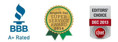 SimpliSafe has an A+ rating with the BBB and has won awards from CNet and Angie's List