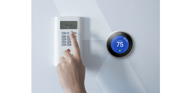SimpliSafe works with Nest