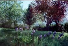 El jardín en verano