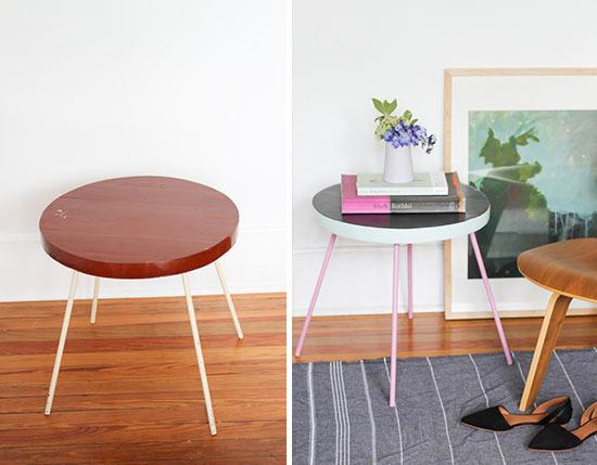 mesa lateral antes e depois cb3
