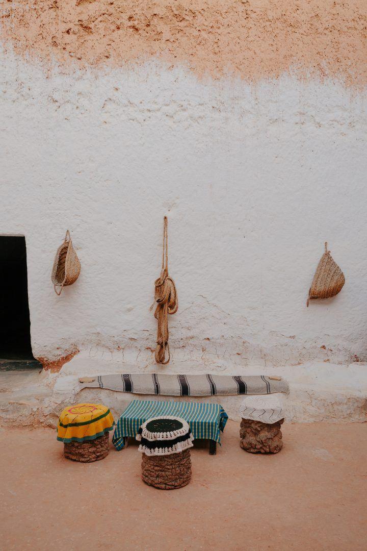 Las viviendas de la fosa de Matmata mantienen vivo el pasado indígena de Túnez