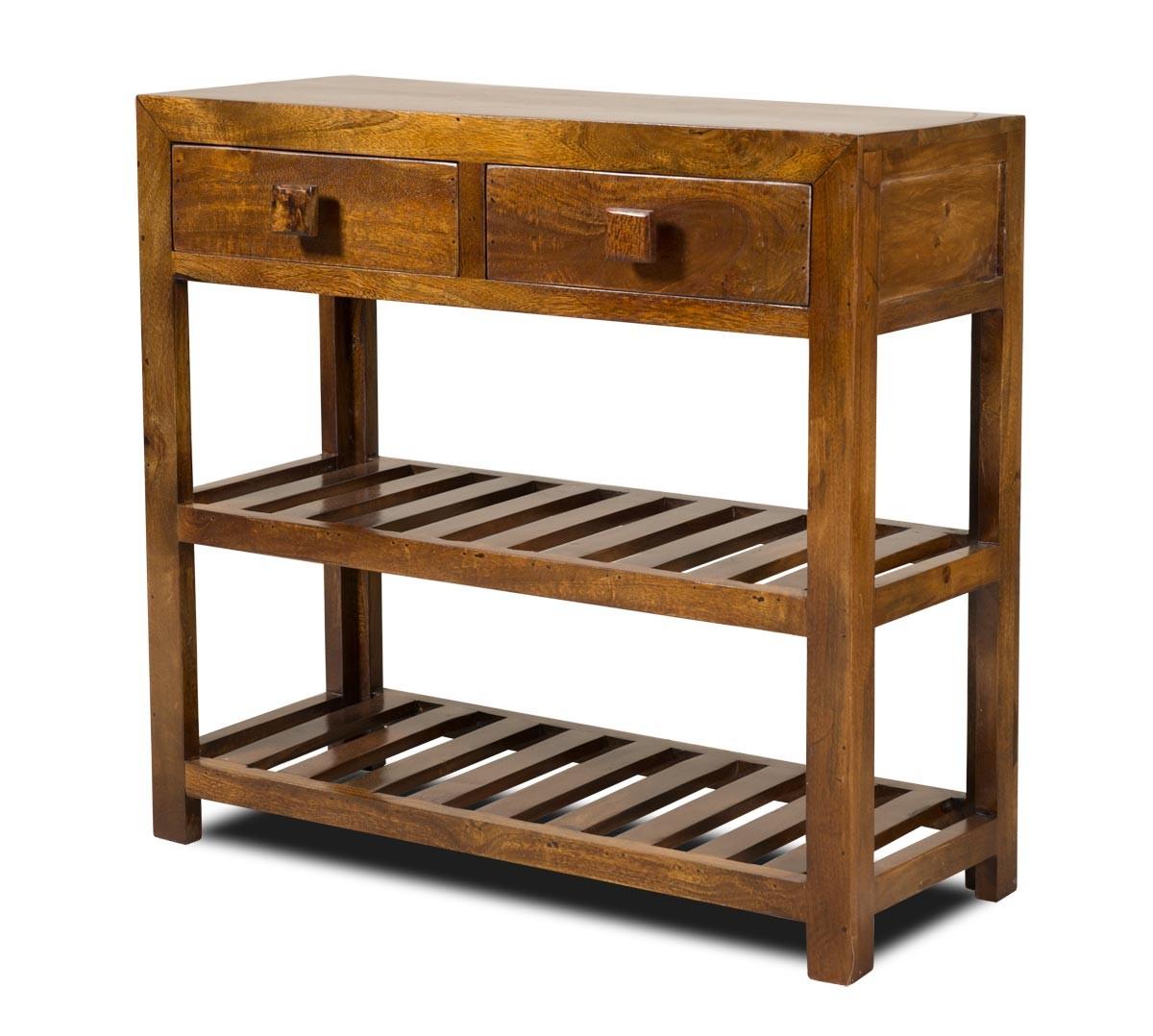 Dakota Mango Small Console Table  Casa Bella Furniture Uk
