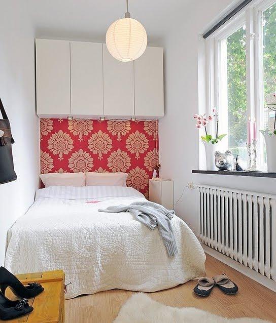 Quarto e Janela Apartamento Pequeno