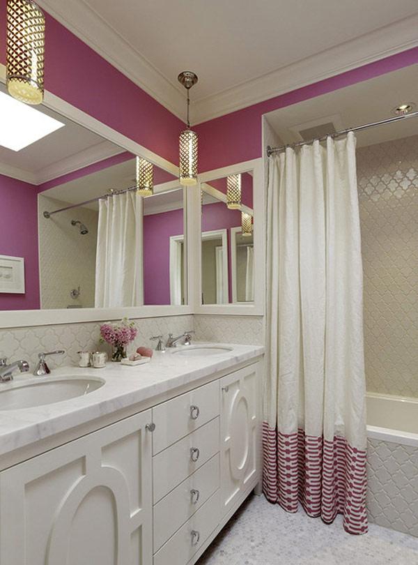 7 Ideias E 42 Fotos Para Decorao De Banheiros Pequenos