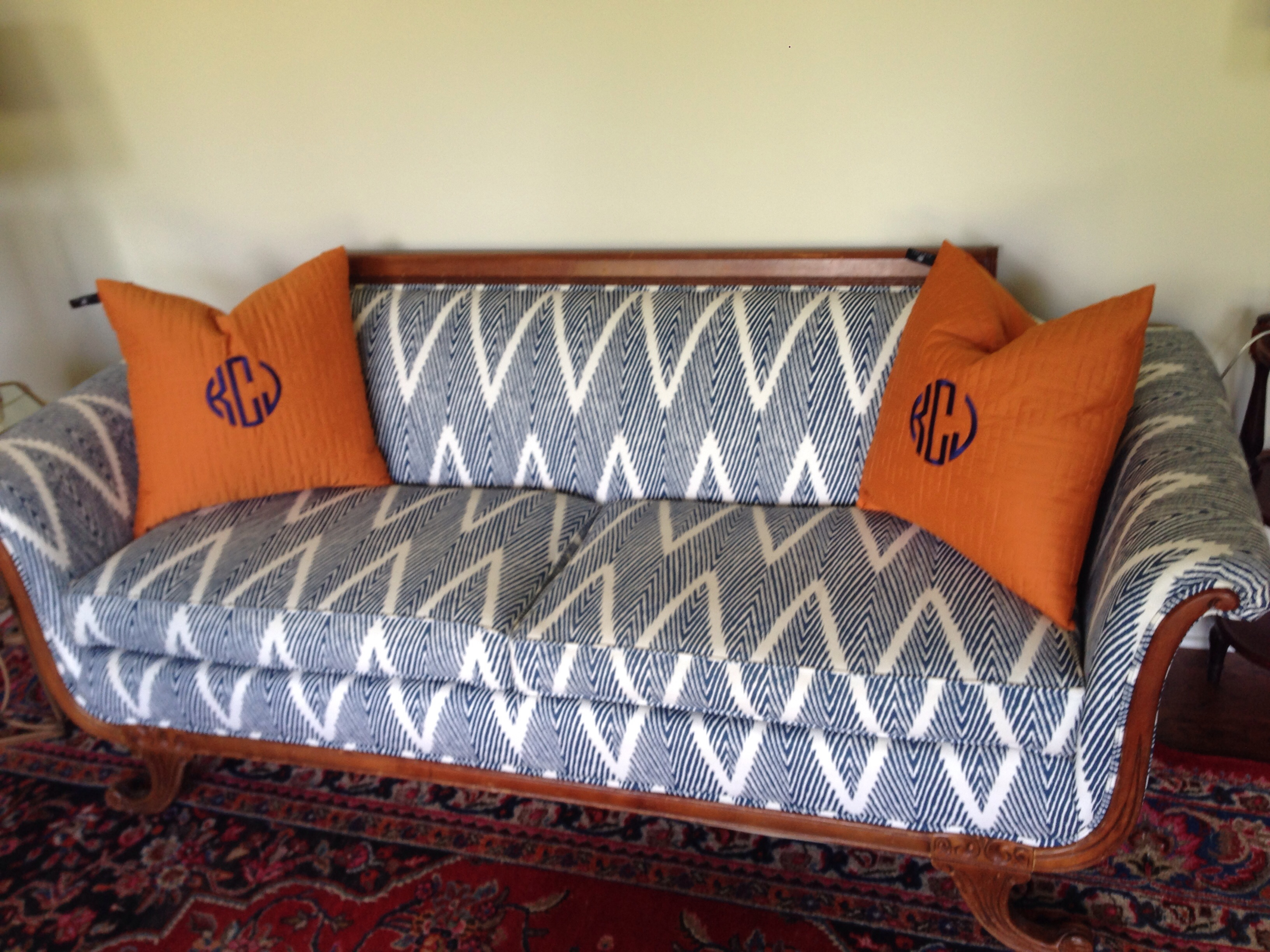 best fabric to reupholster a sofa 1930 cane back duncan phyfe project casacaldwell