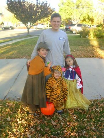 Halloween 2009 whole gang