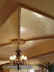 Ceiling Details - Casa de Cantera