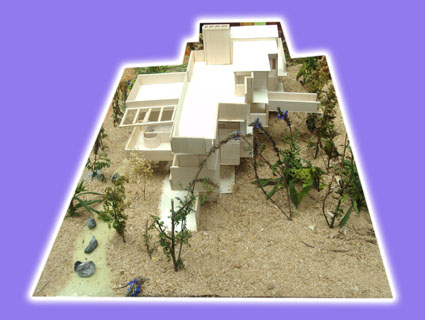 Elaboracin Maqueta Casa de la Cascada  Proyectos
