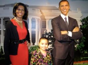 Weekly visit with the Obamas