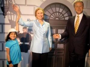 Kids Club welcome for the Clintons!