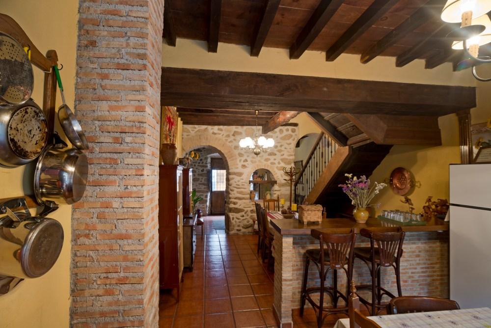 Cocina Casa Rural Churruca