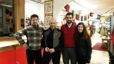Federico, Marco Paolini, Daniele e Clio