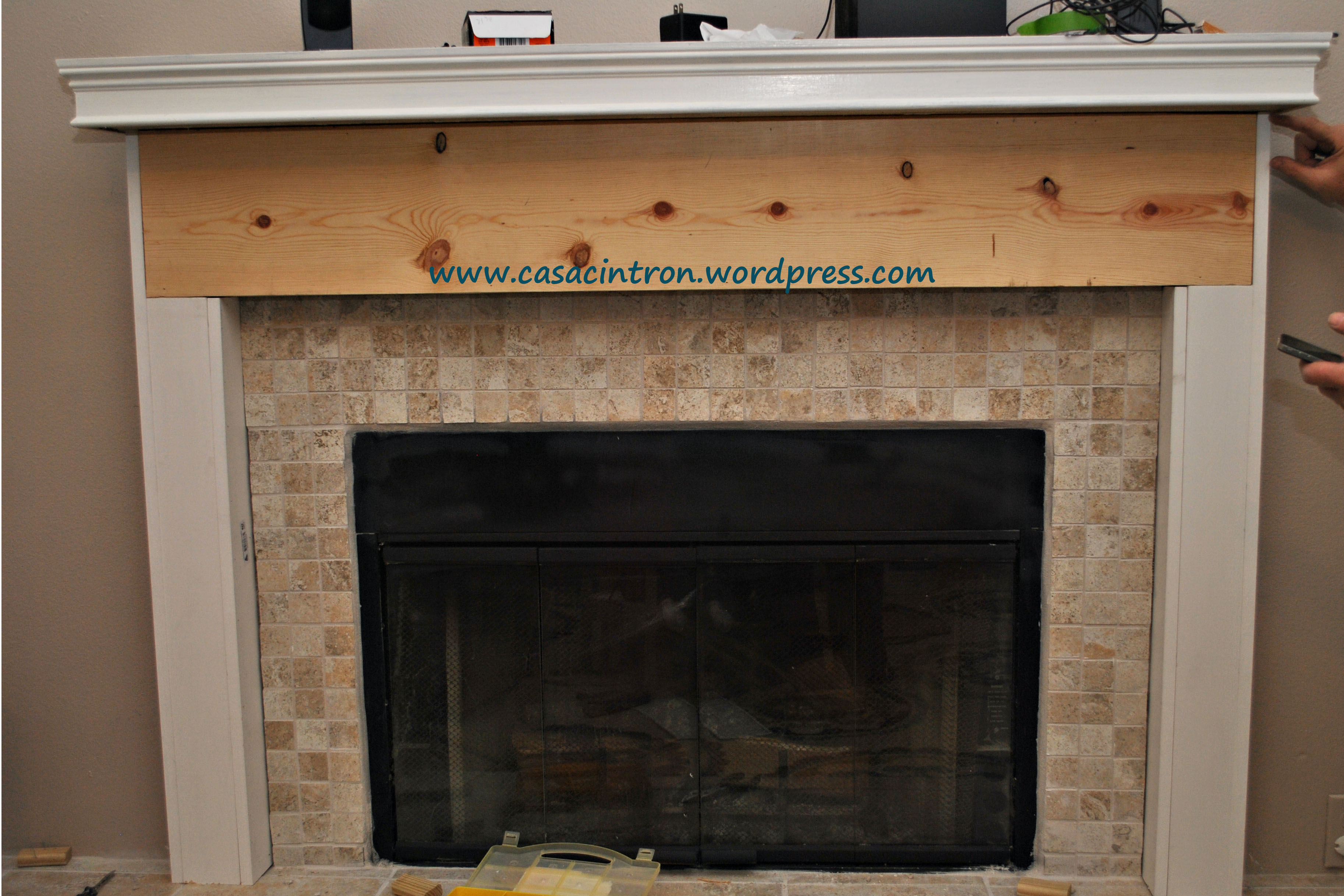 Build A Fireplace How To Build A Fireplace Mantle/surround (phase 2