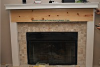 How to build a fireplace mantle/surround (Phase 2 ...