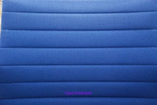 Vitra Eames EA108 Blue Hopsak Aluminium Group Chair 8