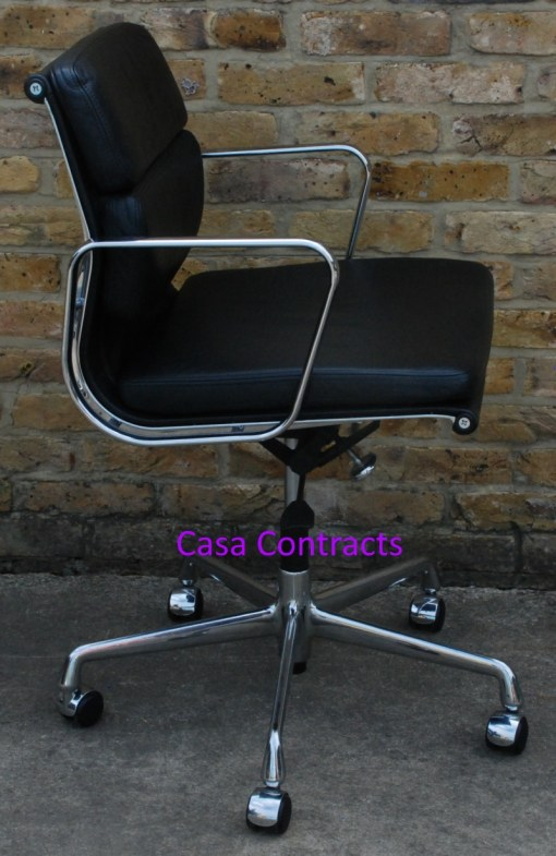 Vitra Eames EA217 Soft Pad Black Leather 7