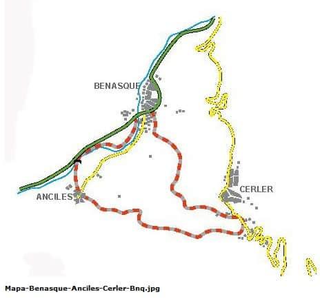 CAMINO CERLER-ANCILES-BENASQUE