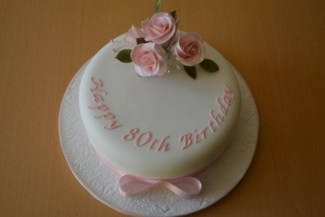 Pink Ladys 80th Birthday Cake Cake Of The Week Casa Costello