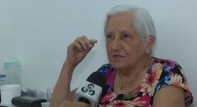 Maria da Glória perdeu a audição dos dois ouvidos — Foto: Reprodução