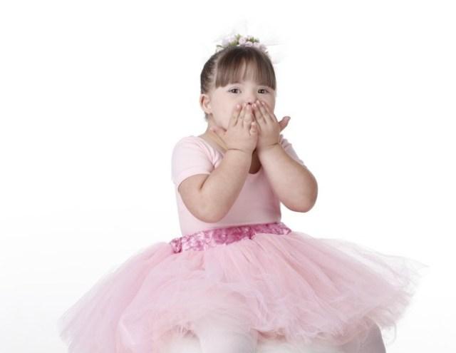 Maria Rita,4, além de fazer ballet, é modelo e influenciadora digital (Foto: Arquivo pessoal)