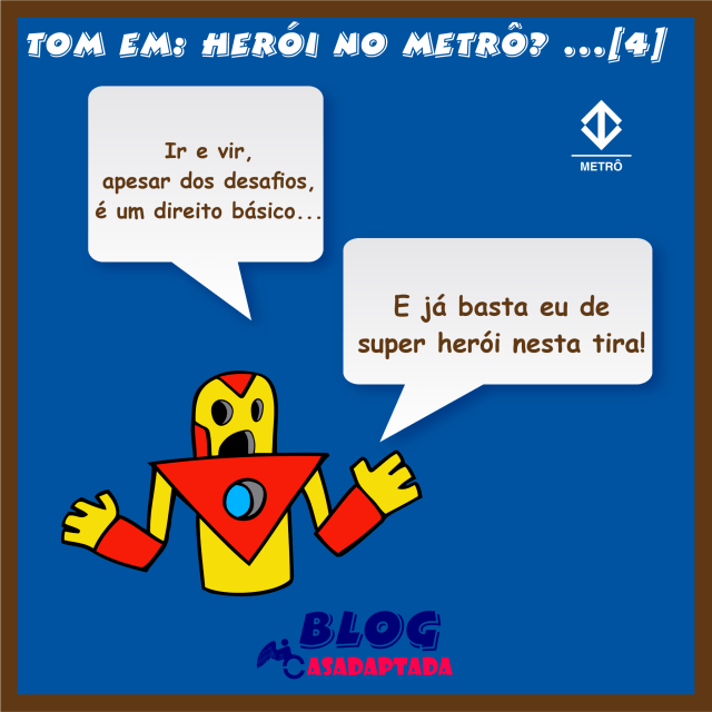 feed4 TOM EM… HERÓI NO METRÔ
