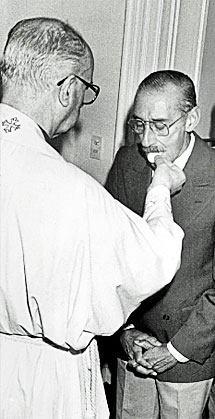 Jorge Bergoglio (Francisco I) e Jorge Videla