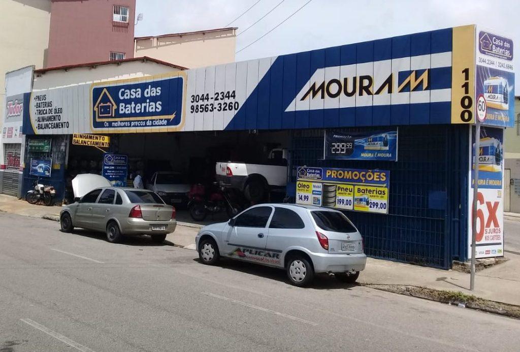 Loja da Casa das Baterias em Fortaleza