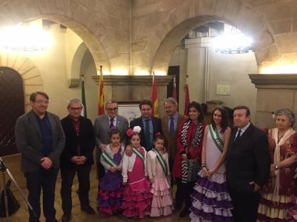 Ofrenda Floral en el Ayuntamiento de Lleida