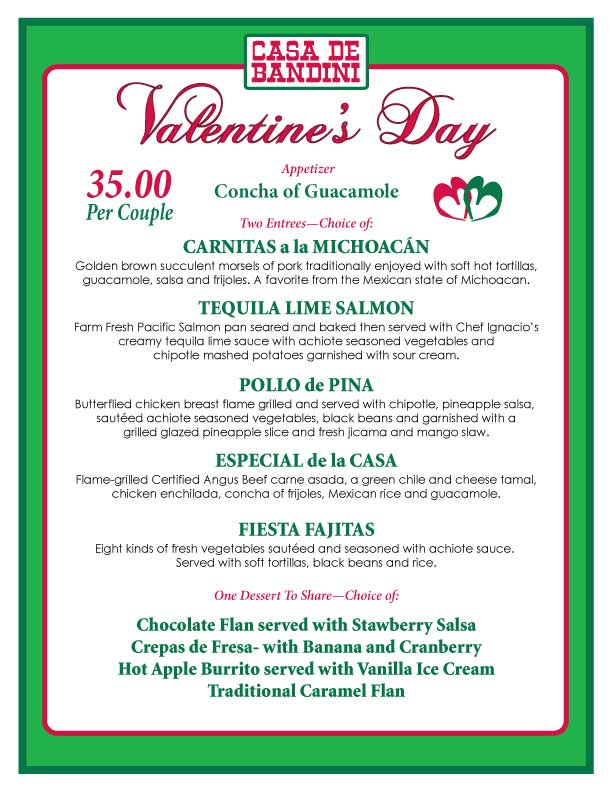 Valentines Day The Casa De Bandini Blog