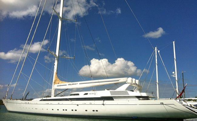mirabella V sailing boat marina casa de campo