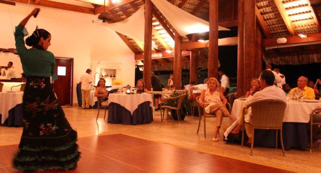 flamenco dancing at La Casita Marina Casa de Campo