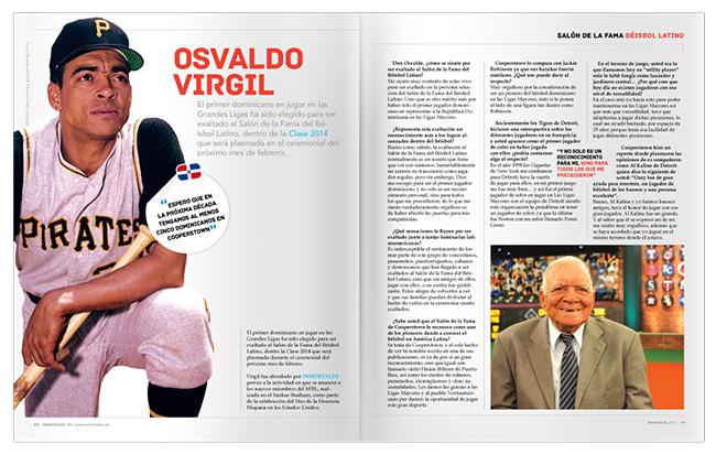 Interview with Osvaldo Vigil INMORTALES latino baseball magazine